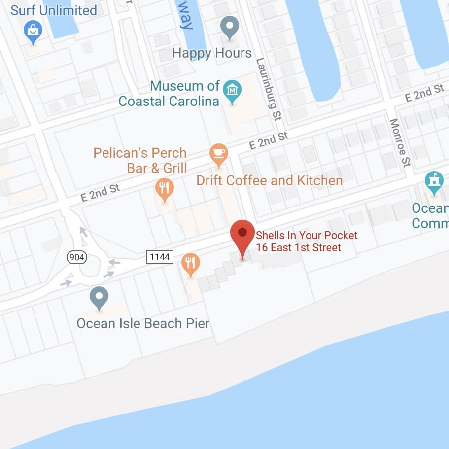 Location of Shells In Your Pocket Beach Condo
