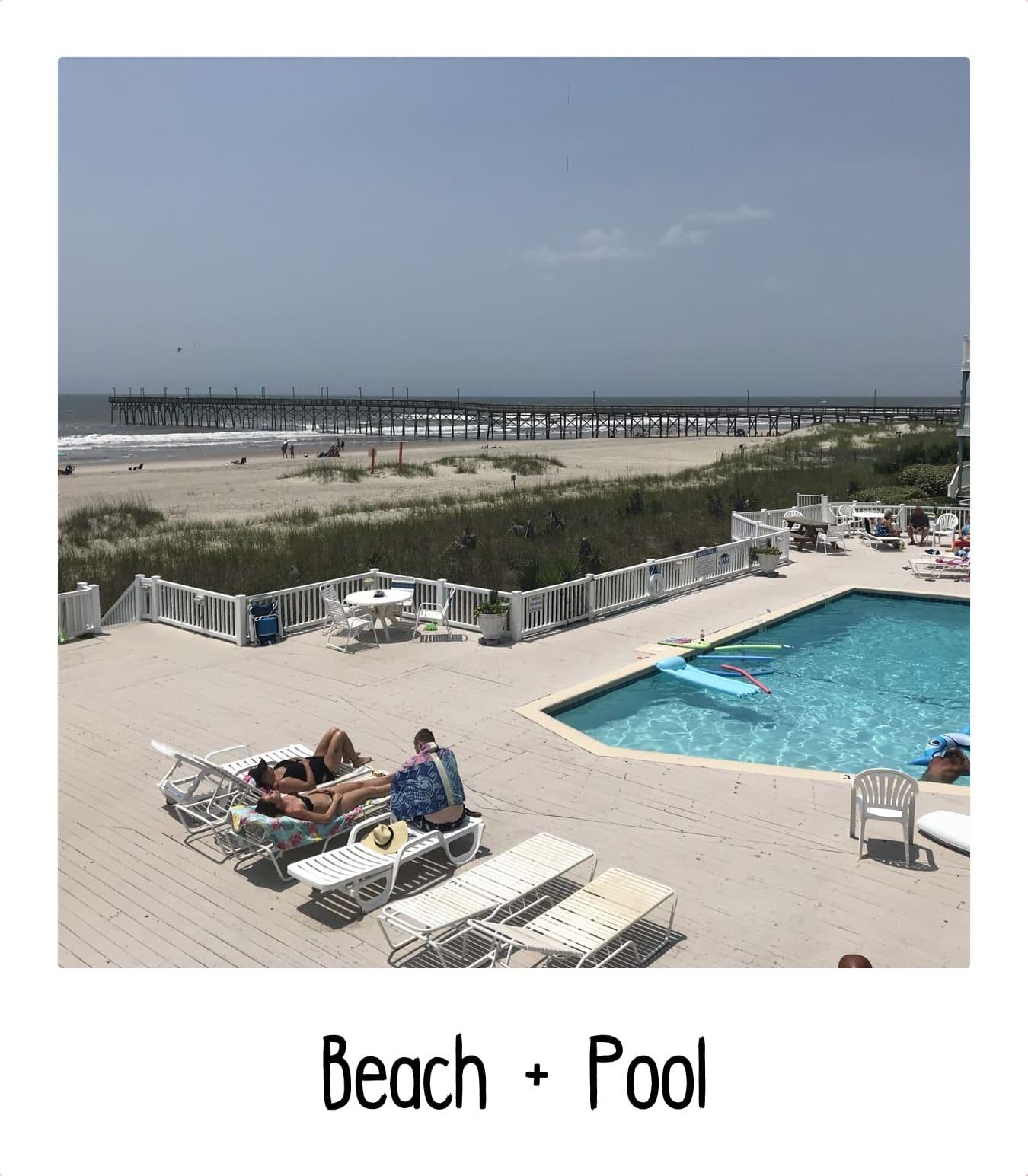 Ocean Isle Beach and Pool